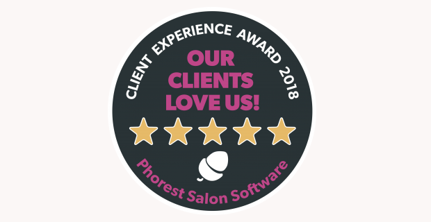 Read more about the article Phorest Client Experience Award 2018